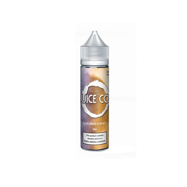 Juice Co 0mg 50ml Shortfill (70VG/30PG)