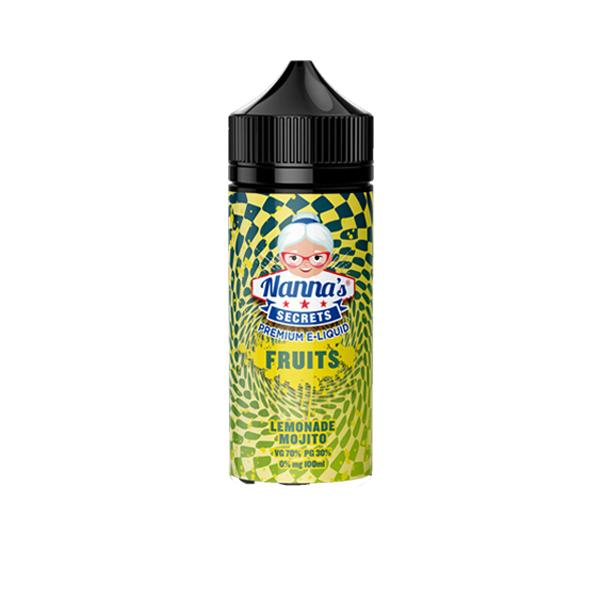 Nanna's Secret Fruits 0MG 100ml Shortfill (70VG/30PG)