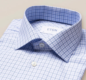 Eton Contemporary Multi Colored Plaid  Available in Two Colors