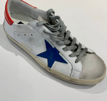 Load image into Gallery viewer, Golden Goose Sneaker Superstar G36MS90.T77 White W/ Blue Star