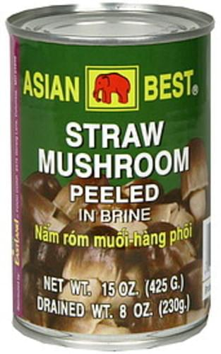 Asian Best - Straw Mushroom Peeled - 15oz