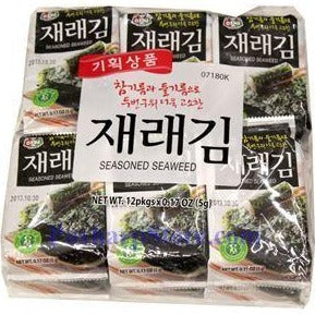 Assi Brand-Seasoned Seaweed-12pkgs