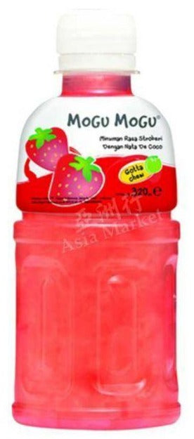 Mogu Mogu - Strawberry Juice - 320ml