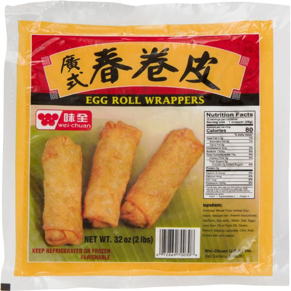 Wei Chuan - Egg Roll Wrappers - 32oz