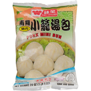 Wei Chuan - Pork Mini Bun - 20oz