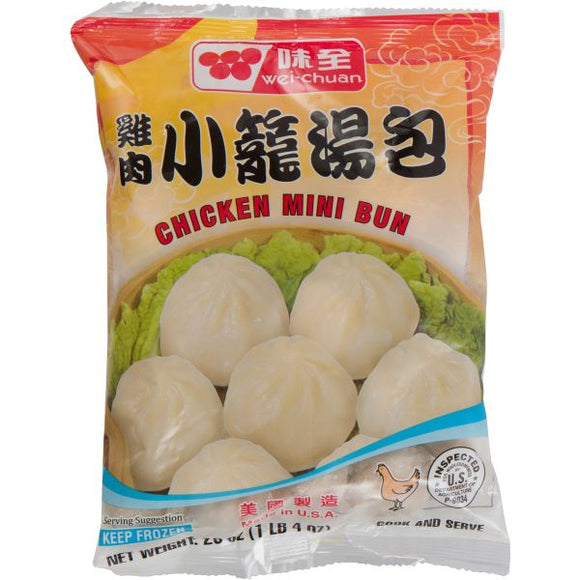 Wei Chuan - Chicken Mini Bun - 20oz