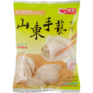 Wei Chuan - Pork & Pickle Napa Cabbage Dumpling - 21oz