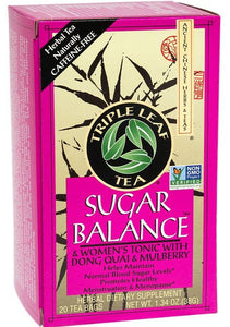 Triple Leaf - Sugar Balance Tea - 20pks