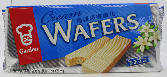 Garden-Vanilla Cream Wafers-200g
