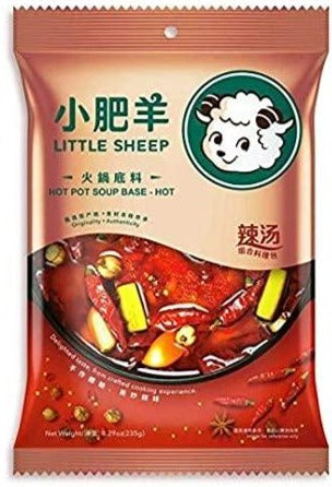 Little Sheep - Hot Pot Soup Base - 8.29oz
