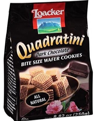 loacker - Quadratini Dark Chocolate - 8.82