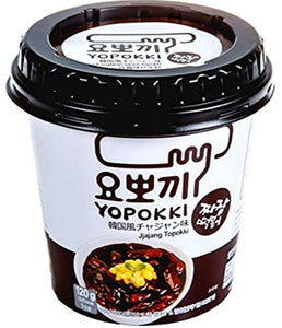 Young Poong - Rice Cake Black SoyBean Sauce - 120g