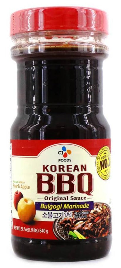 CJ - Korean BBQ Bulgogi Sauce - 840g