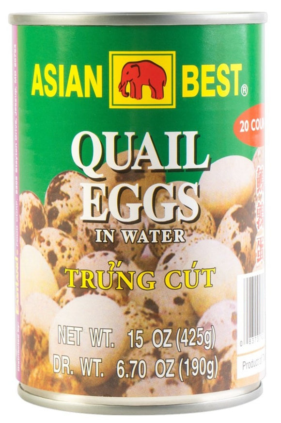 Asian Best - Quail Eggs - 15oz