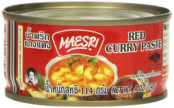 Maesri - Red Curry Paste - 4oz