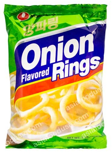 Nongshim - Onion Flavored Rings - 1.76oz