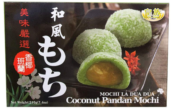 Royal Family-Coconut Pandan Mochi-210g