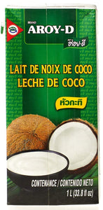 Aroy D - Coconut Milk Original - 33.8oz