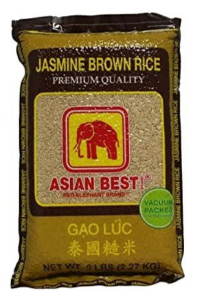 Asian Best - Brown Rice - 5lb
