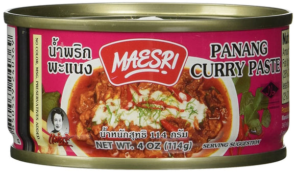 Maesri - Panang Curry Paste - 4oz
