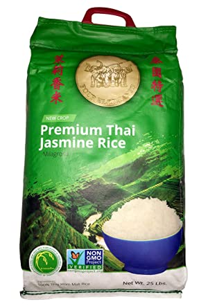 Four Elephants - Thai Jasmine Rice - 25lb