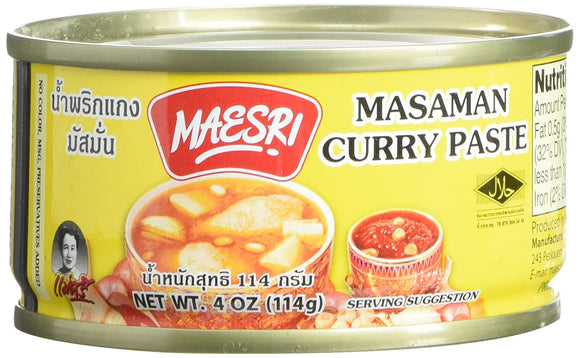 Maesri - Masaman Curry Paste  - 4oz