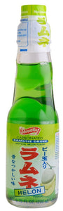 Shirakiku-Ramune Drink Melon -6.76oz