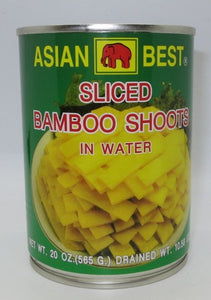 Asian Best - Bamboo Shoots Sliced In Water - 10.58oz