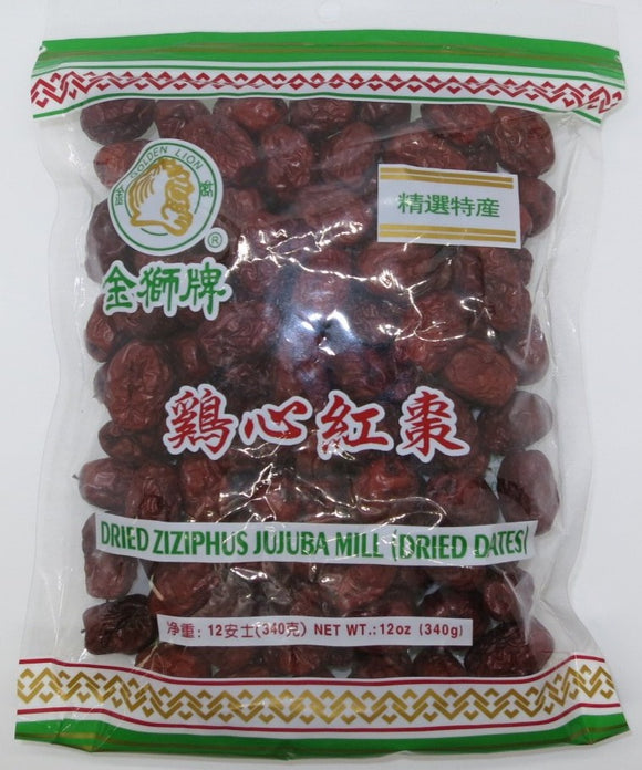 Golden Lion - Dried Dates - 12oz