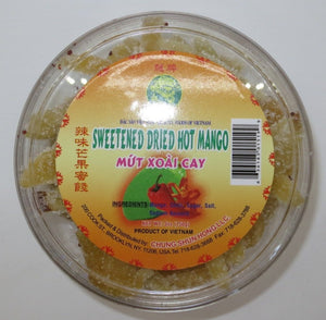 Dragon - Sweet Dried Hot Mango - 5oz