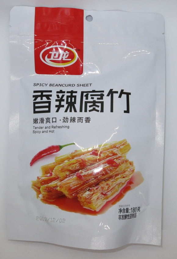 Wei Long - Spicy Beancurd Sheet - 180g