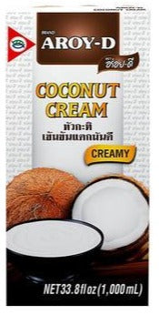 Aroy D - Coconut Cream - 33.8oz