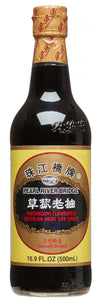 Pearl River Bridge - Mushroom Flavor Dark Soy Sauce - 500ML