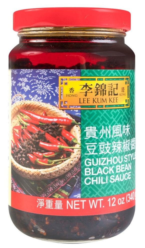 Lee Kum Kee - Guizhou Black Bean Chili Sauce - 12oz