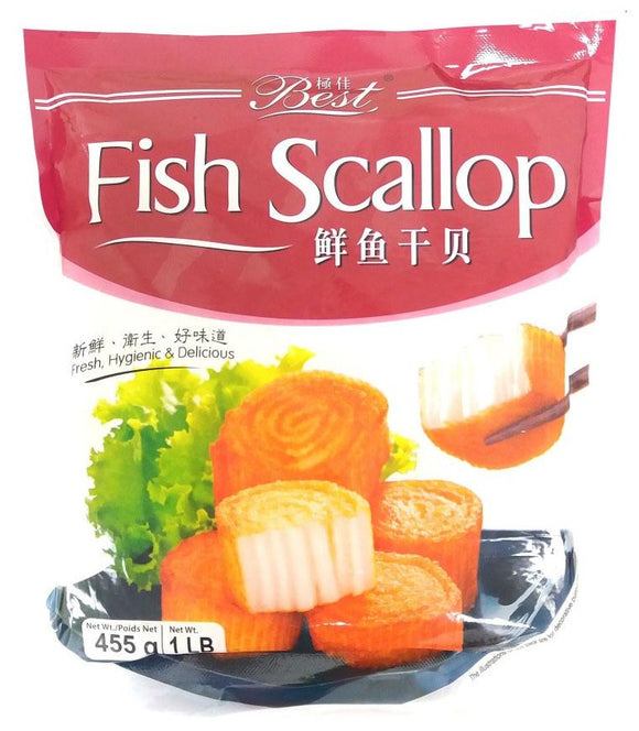 Best - Fish Scallop - 455g
