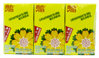 Vita - Chrysanthemum Tea Less Sugar - 6PK