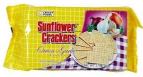 Copy of Sunflower Crackers - Onion Garlic - 6.7oz