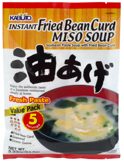 Kabuto - Instant Fied  Bean Curd Miso Soup - 5pks
