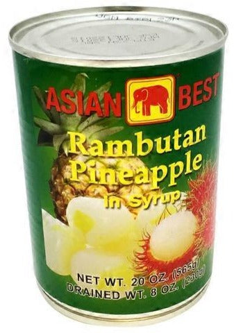 Asian Best - Rmbutan Pineapple - 20oz