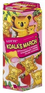 Lotte-Koala's March- Strawberry-41g
