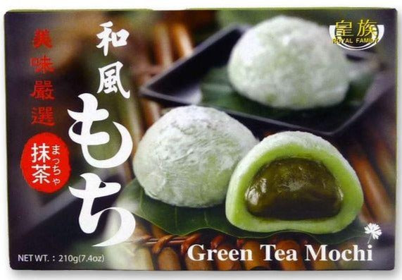 Royal Family - Green Tea Mochi - 210g