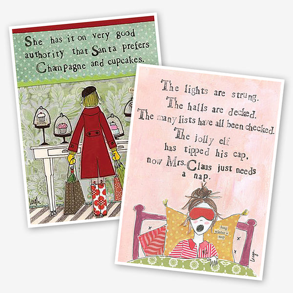 CURLY GIRL DESIGN HOLIDAY CARDS