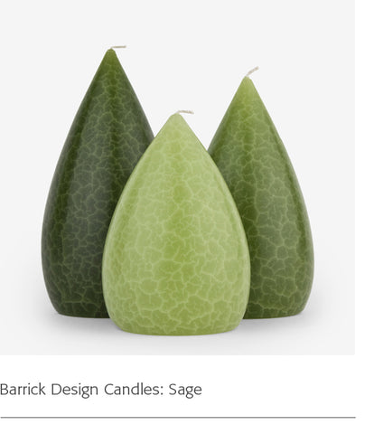 Barrick Design Candles: Sage