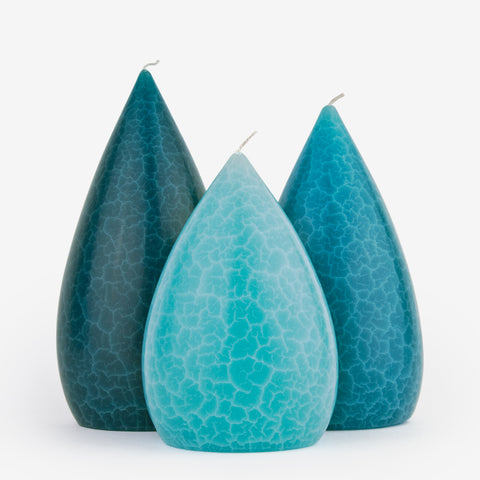 Barrick Design Candles: Turquoise