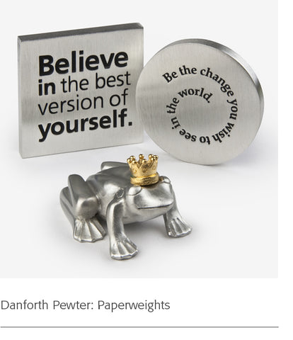 Danforth Pewter: Paperweights