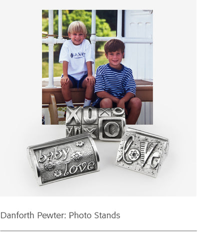 Danforth Pewter: Photo Stands