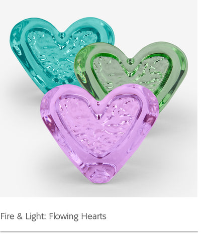 Fire & Light: Flowing Hearts