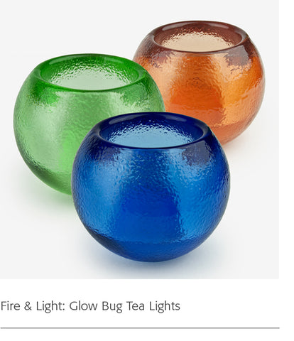 Fire & Light: Glow Bug Tea Lights