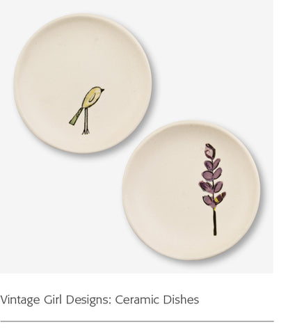 Vintage Girl Designs: Ceramic Dishes