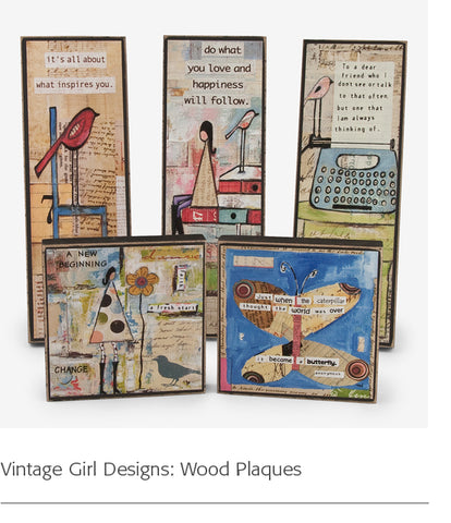 Vintage Girl Designs: Wood Plaques